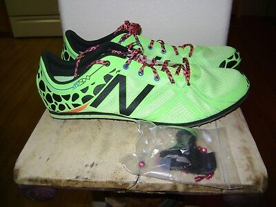 New Balance Track Spike Distance Medium MMD500G3 Green Sz 11 ()