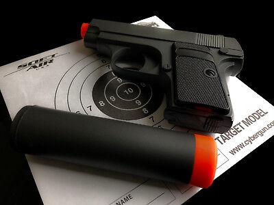 G1 Metal 911 .25 Replica Airsoft Pistol FPS-230 6MM BB Gun Super Sub Compact
