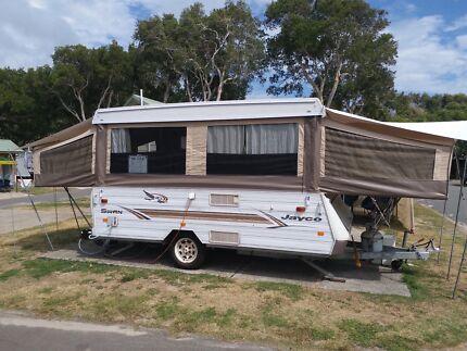 Jayco Swan 2005 Anniversary Edition camper van