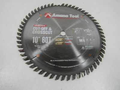 Amana Tool 610600 Cut-Off and Crosscut Tooth ATB 5/8-Inch  Bore Saw Blade