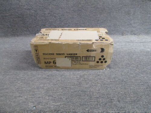 407823 New! Genuine Ricoh Savin Lanier Black Print Cartridge MP 601