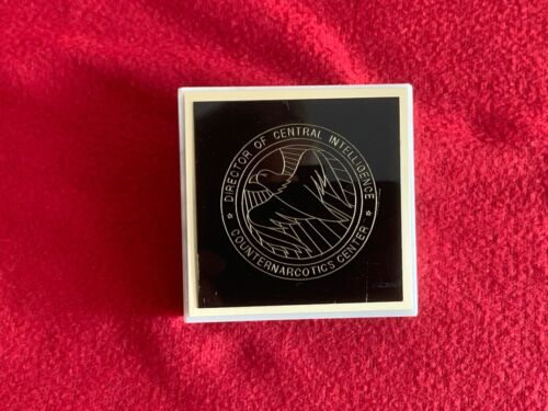 CIA Central Intelligence Agency DCI Counter Narcotics Recognition Award