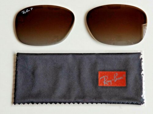 Brand New RAYBAN Polarized Brown Gradient Lens Replacements RB4101 Jackie O 58mm