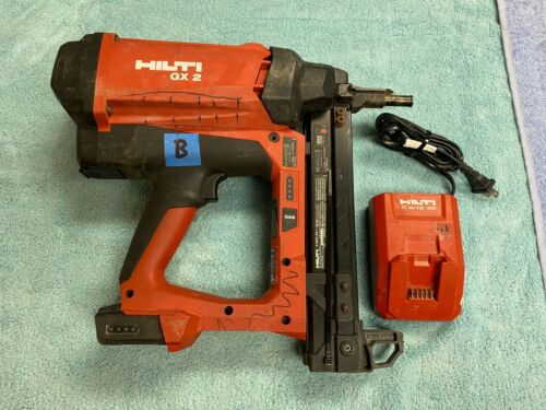 (LotB) Hilti GX2 Battery / Gas Actuated Fastening Tool w/ 1 Battery and Charger