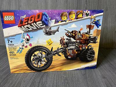 LEGO The Movie 2 Metal Motor Trike! 70834 (461 Piece) NEW Rare Kids Legos
