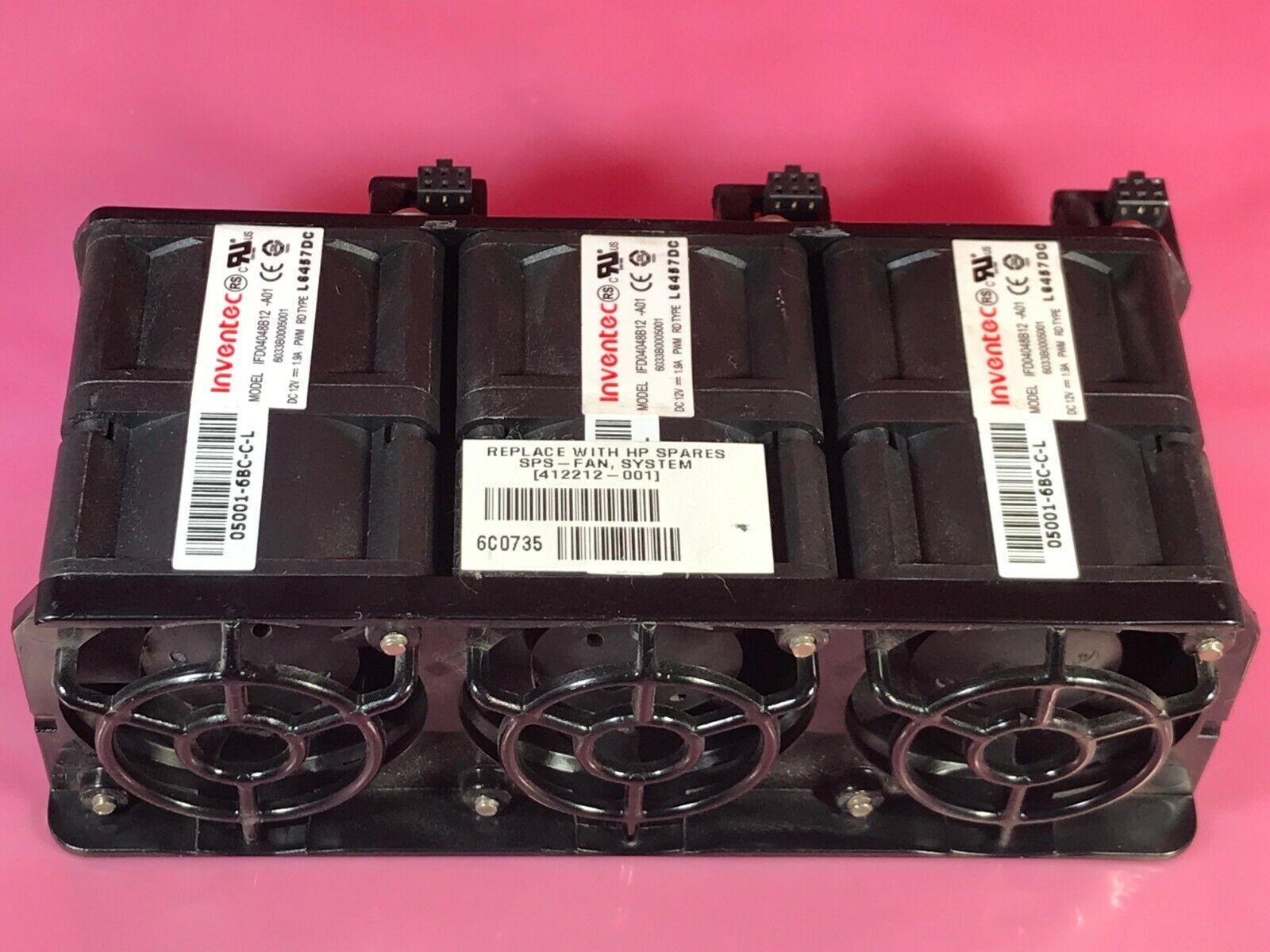 HP Server ProLiant DL360 G5 Server Fan 412212-001 IFD04048B12C-S05 Plus