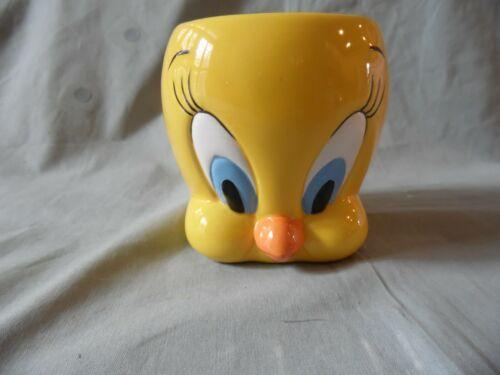 Vintage Tweety Bird Looney Tunes 3D  Ceramic Coffee Mug Cup Warner Brothers
