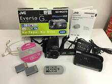 JVC CAMCORDER– EVERIO G Series – Model GZ-MG575 – HARD DISK Sunnybank Brisbane South West Preview