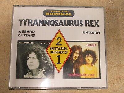 Tyrannosaurus Rex - Beard Of Stars / Unicorn 2 CD Box Castle Marc Bolan