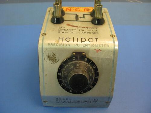 Helipot Precision Potentiometer Model T-10