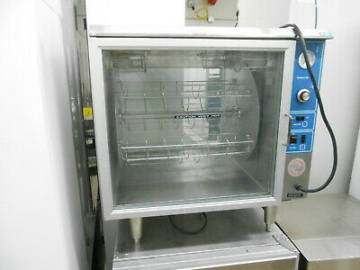 Alto-shaam 750-gdr Rotating Merchandiser Rotisserie Hot Food Holding Cabinet