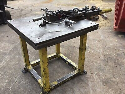 Hydraulic Press Fixture Table Bending Table Super Heavy Duty Welding Table