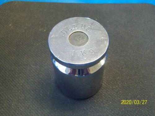 TOLEDO 1 kg (2000g) Class 1 calibration weight