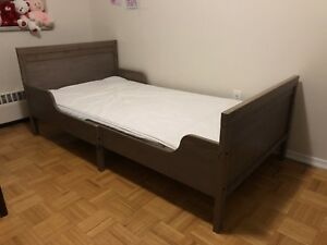 IKEA children's bed + mattress