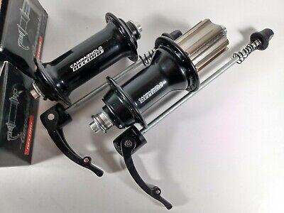 Miche Racing Box Hub Set 32 H Campagnolo 9//10//11 Speed Cassette Black