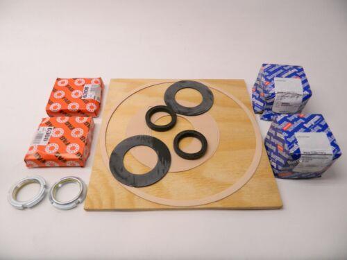 NEW Travaini Industrial Vacuum Pump Rebuild Kit 6308 Bearing, Seals Gaskets