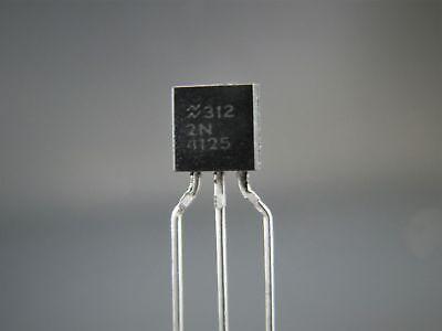 2n4125 X4 - Pnp Transistor - Taitron Nos