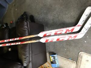 "CCM goalie sticks 24"" paddle."
