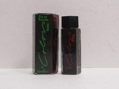 Colors Man by Benetton For Men 0.13 oz Eau de Toilette Splash Mini Rare Benetton Men Eau De Toilette
