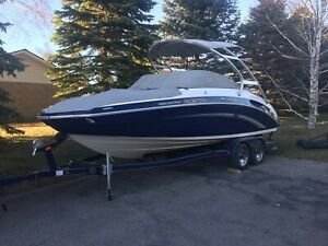 2011 Yamaha SX242 limited S with trailer