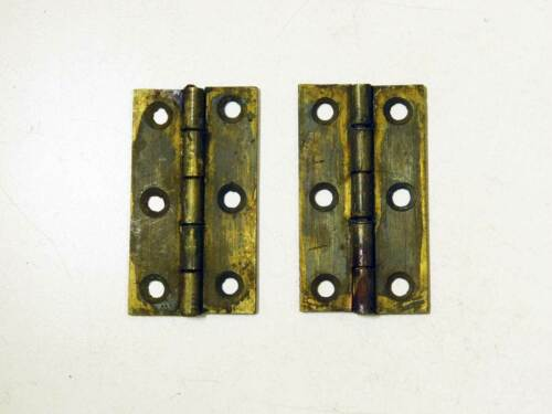 One Pair Period Cast Brass Early 1800