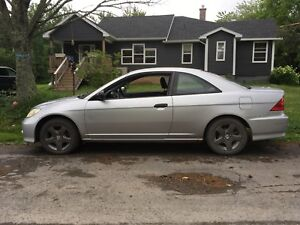 2004 Honda Civic coupe 5 speed jump in and drive home