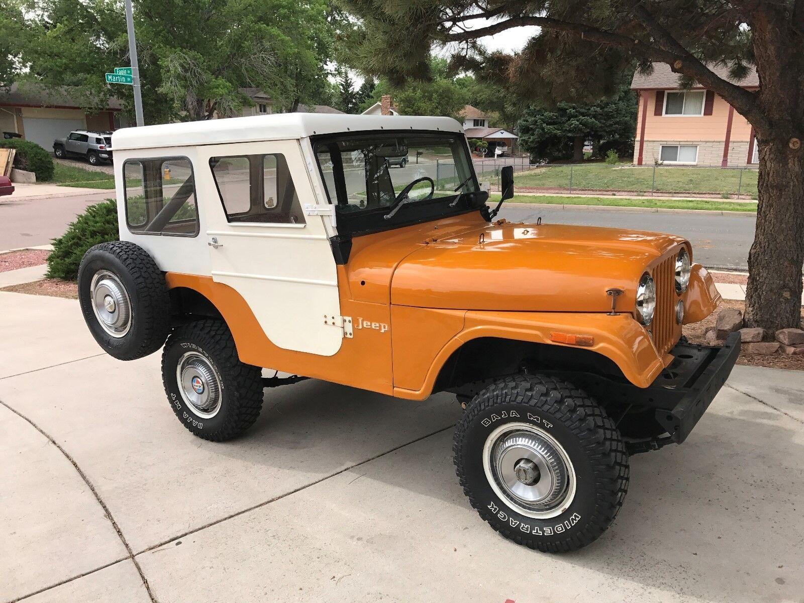 1973 Jeep Cj5 1 Owner Very Cool Low Original Mile Survivor