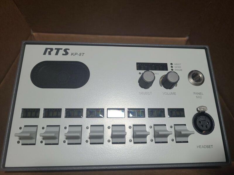 Telex RTS Intercom KP-8T Keypanel Panel Tektronix Mount New KP 8T