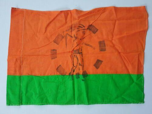 India Vintage Cloth Flag JANATA PARTY FARMER Logo