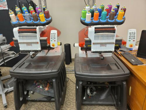 Melco Amaya XT 16 Color Commercial Embroidery Machine ( 2 Head Configuration)