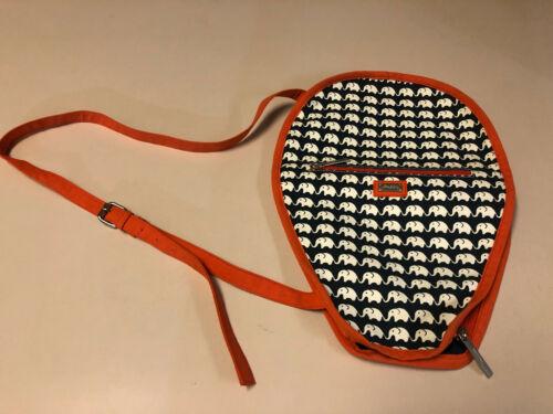 "Ame & Lulu Tennis Racquet Blazer Bag/Cover ""Ellie"", never used"