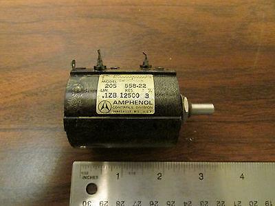 Amphenol Multi-turn Potentiometer Model 205 12.5kohm