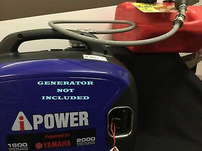 A-ipower Sc2000i Yamaha Powered Inverter Generator 6 Gal Ext Run Fuel System