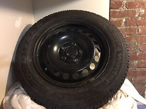 2015 Vw Jetta Winter tires on rims- brand new