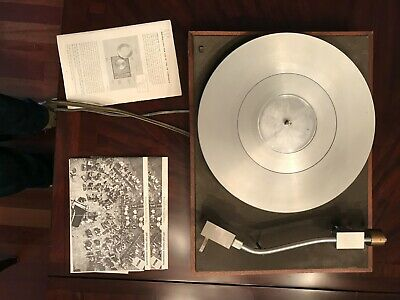 Vintage AR Acoustic Research XA Turntable With Stanton 500 Cartridge