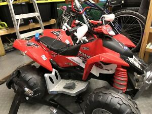 Peg Perego 12v ride on 4 wheeler, mint condition