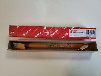 Starrett 234b-8 1pc 8.0 Steel Micrometer End Measuring Standard Rod Wo Rub