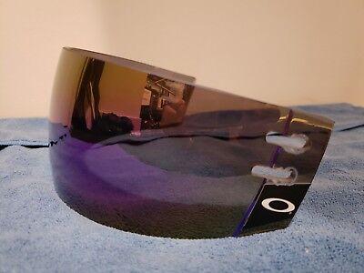 Rare Blue Mirror Oakley Hockey Visor (Ovechkin sub zero (Mirrored Oakley Visor)