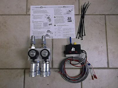Hydraulic Multiplier 2 Circuit W Command Control Couplers 12vdc 14790