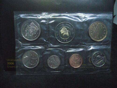 2006 Canada UNCIRCULATED SET, 7 Coins