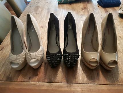 Womens size 8 heels