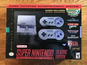 Super Nintendo Classic Edition SNES