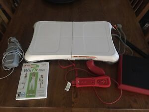Wii mini with Wii Fit balance board w/ game
