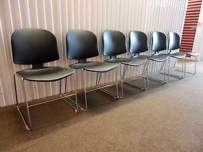 Max-stacker Ii Stackable Guest Or Conference Chairs Set Of 6 By Steelcase