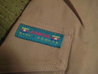 NWT Girl Scouts of America Junior Shorts Official Uniform NOS