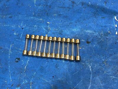 12 Us Navy Littlefuse Fuses 1-12 Amp 1.5a 250v Slow Blow 3ag Mil Spec 313 Nos