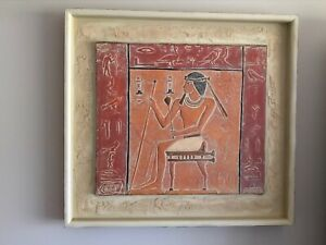 King Tutankhamun Egyptian Wall Clock Egyptian Statue Resin