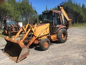 Case 580 Super K 4x4 Backhoe