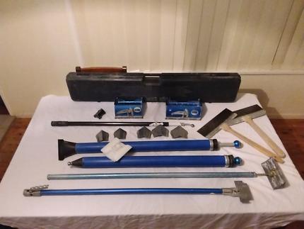 Plastering boxes/ auto tools