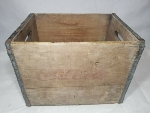 Vintage Full Size Bottle Crate - Coca-Cola - Coke - Distressed